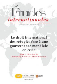 Études internationales. Vol...