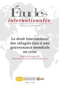 Études internationales. Vol...