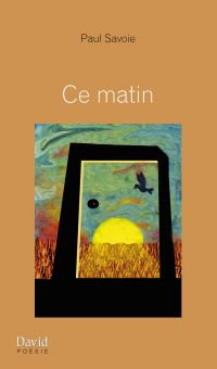 Book cover of Ce matin.