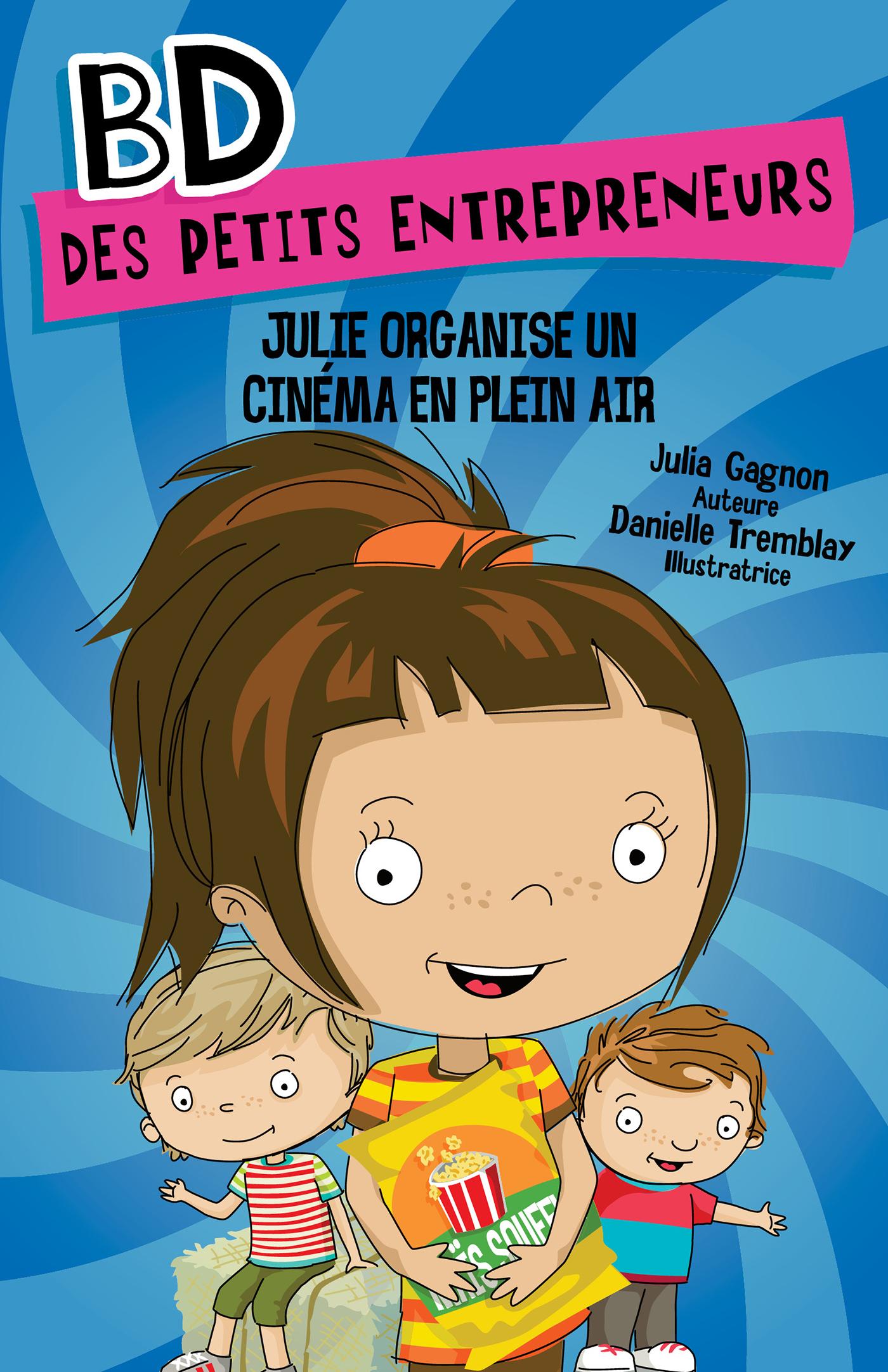 Julie organise un cinéma en...