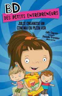 Julie organise un cinéma en plein air