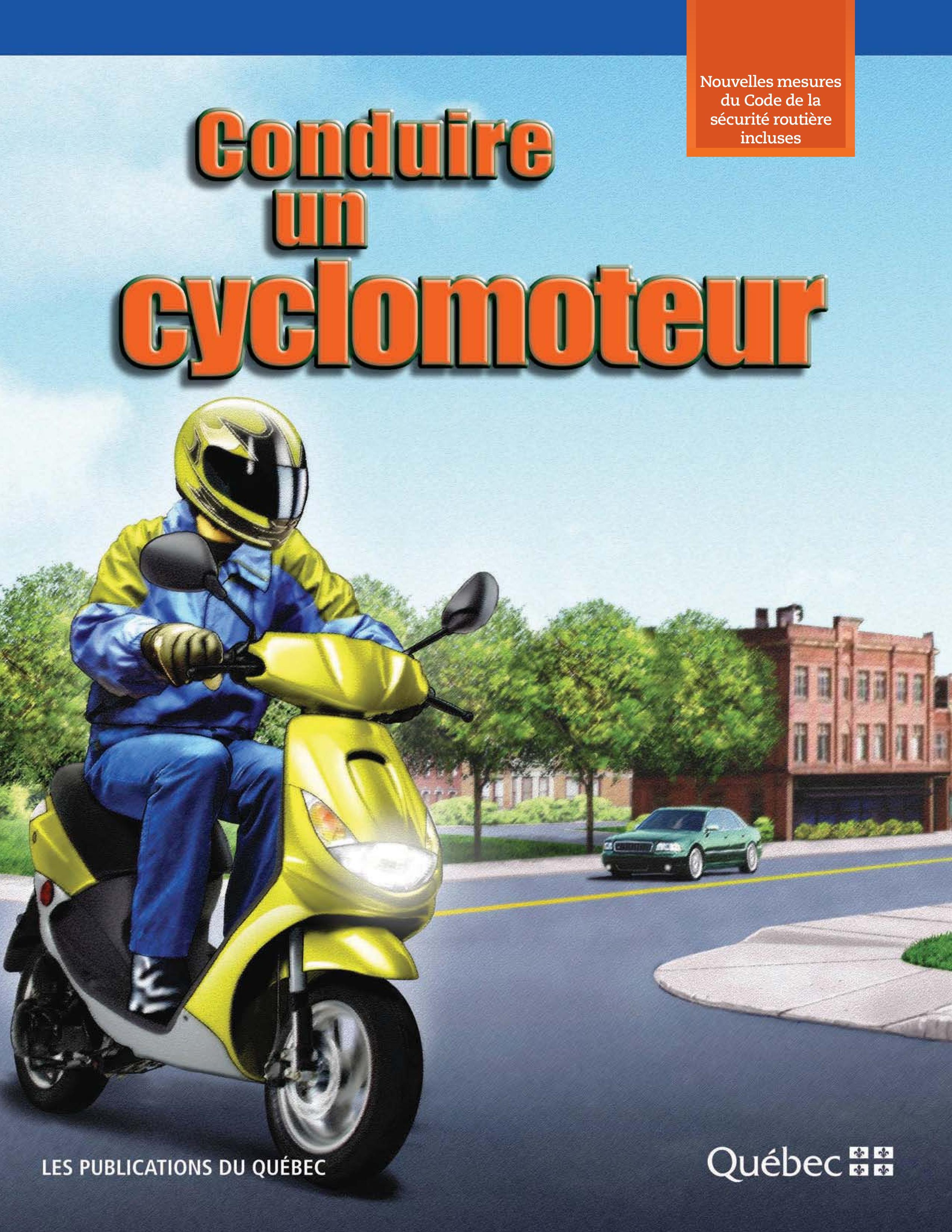 Conduire un cyclomoteur