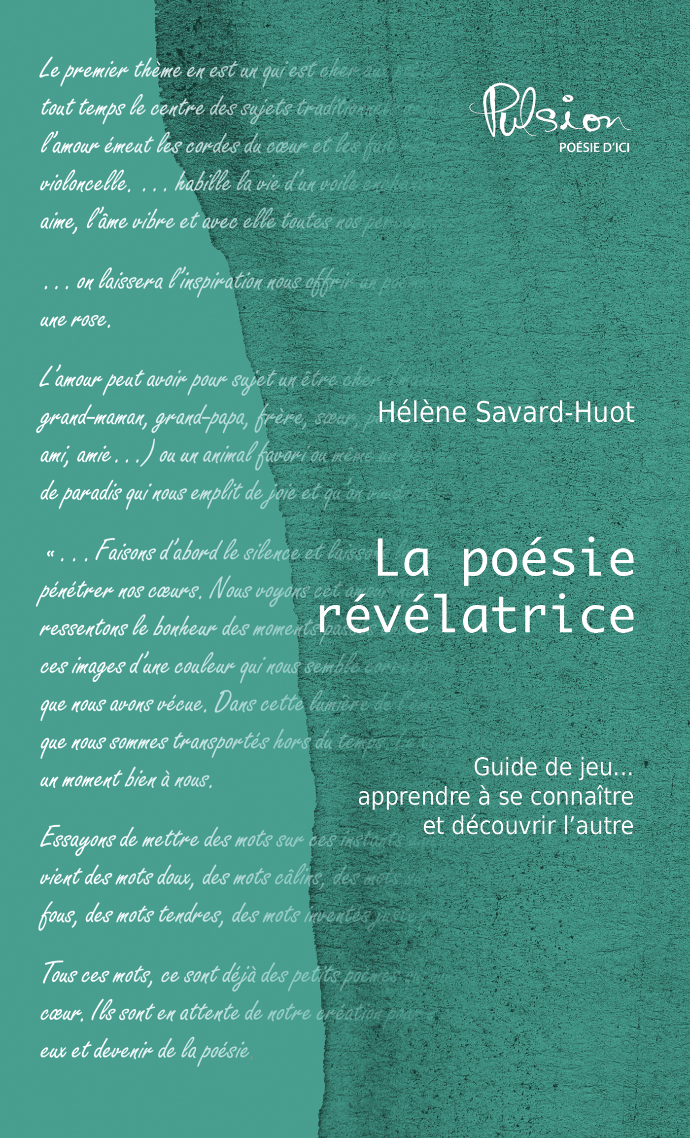 La poésie révélatrice