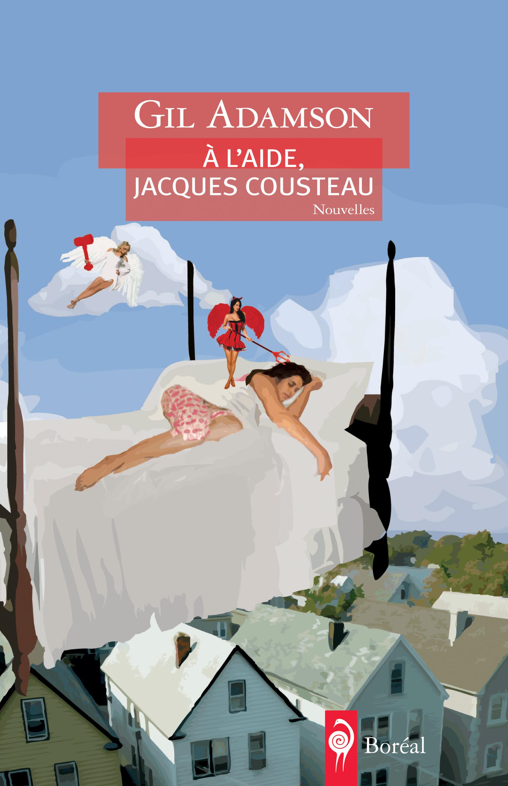 À l'aide, Jacques Cousteau
