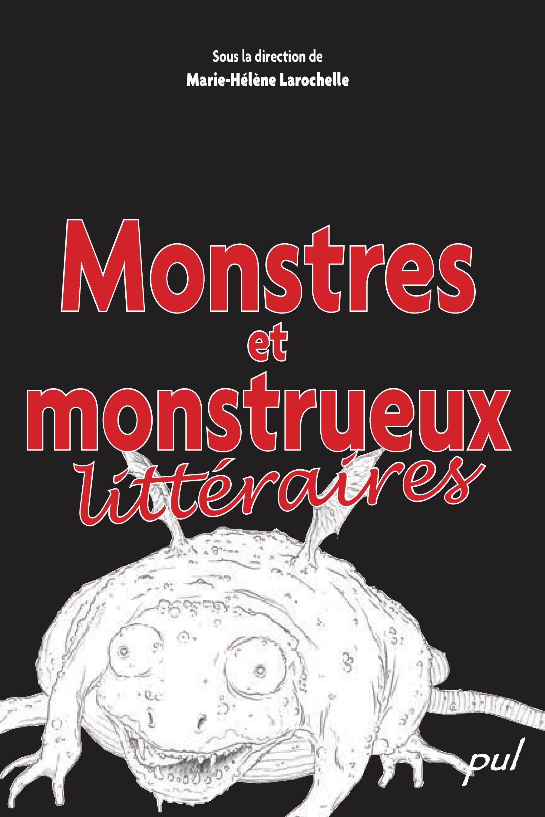 Monstres et monstrueux litt...