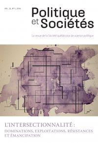 Politique et Sociétés. Vol. 33 No. 1,  2014