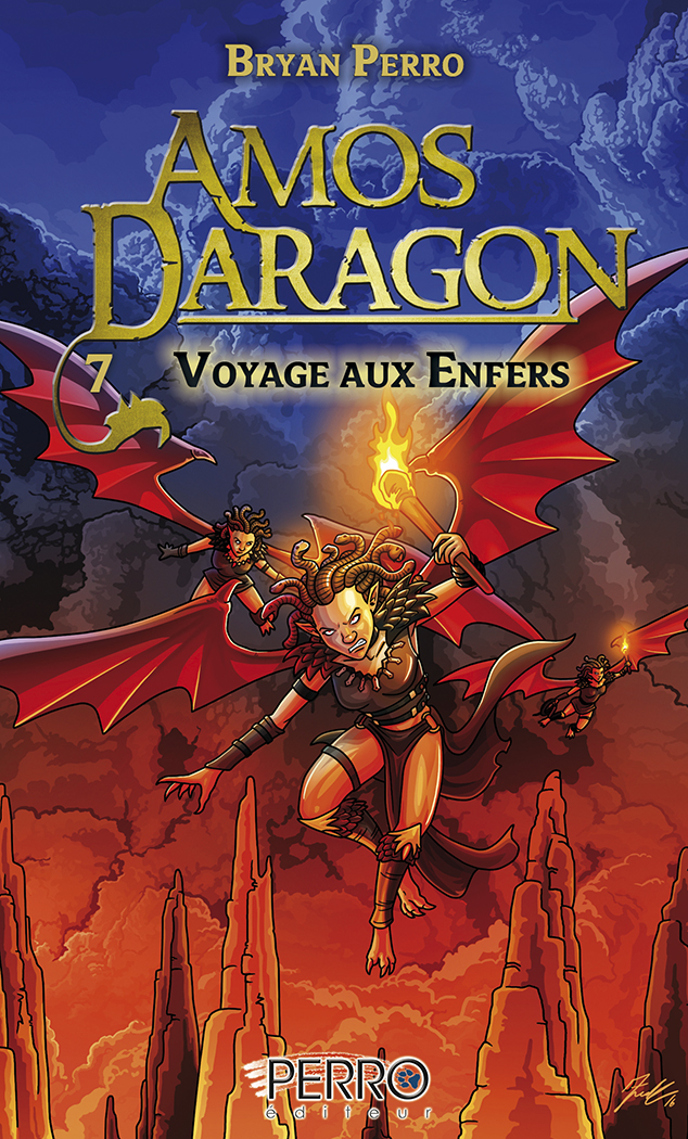 Amos Daragon (7) Voyage aux Enfers