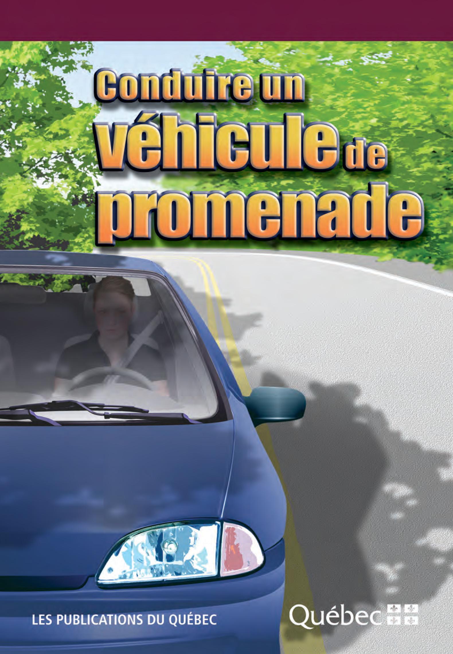 Conduire un véhicule de promenade
