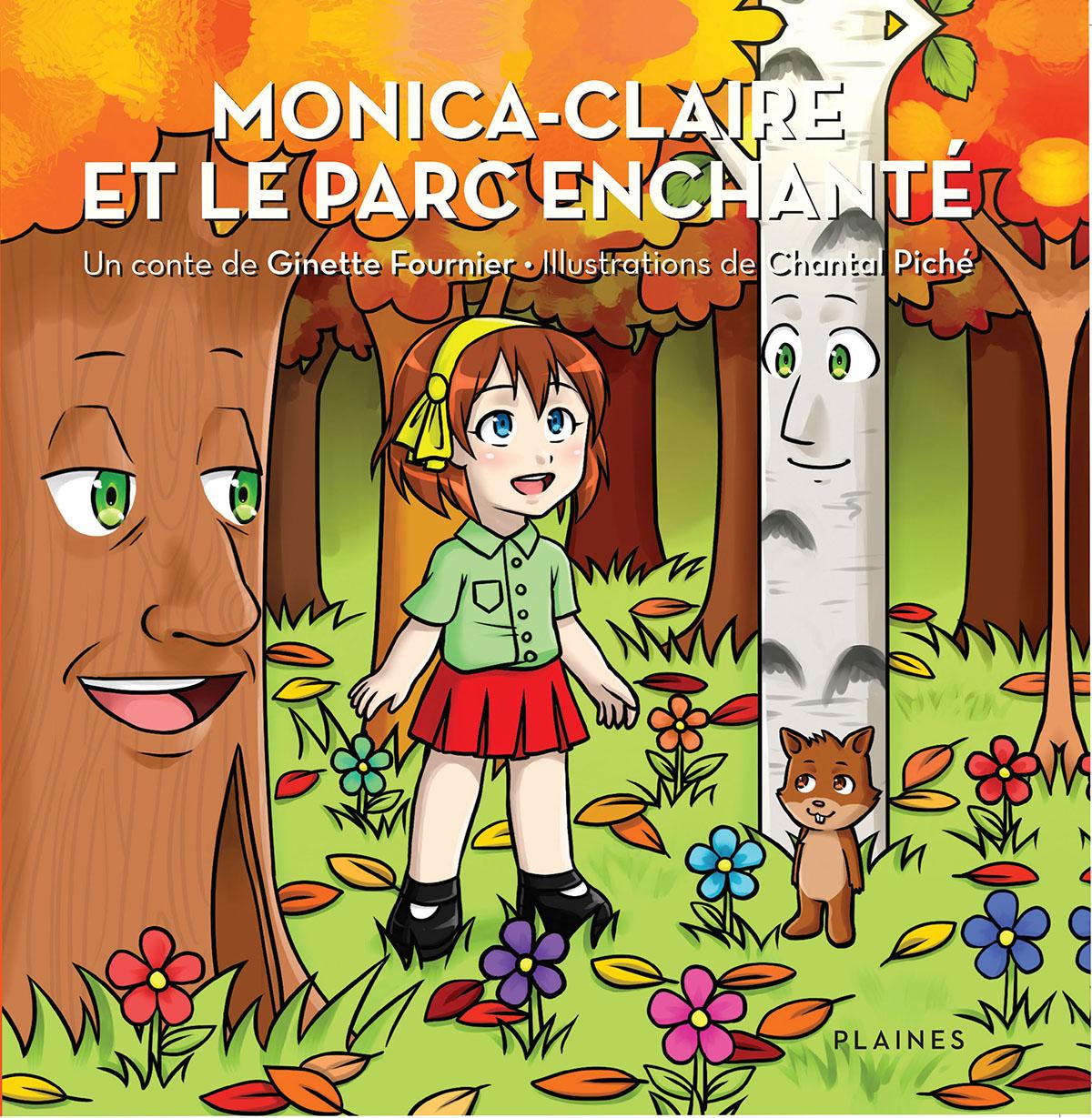 Monica-Claire et le parc en...