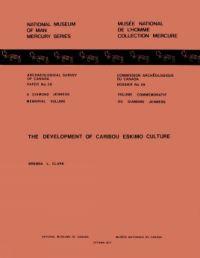 Development of Caribou Eski...