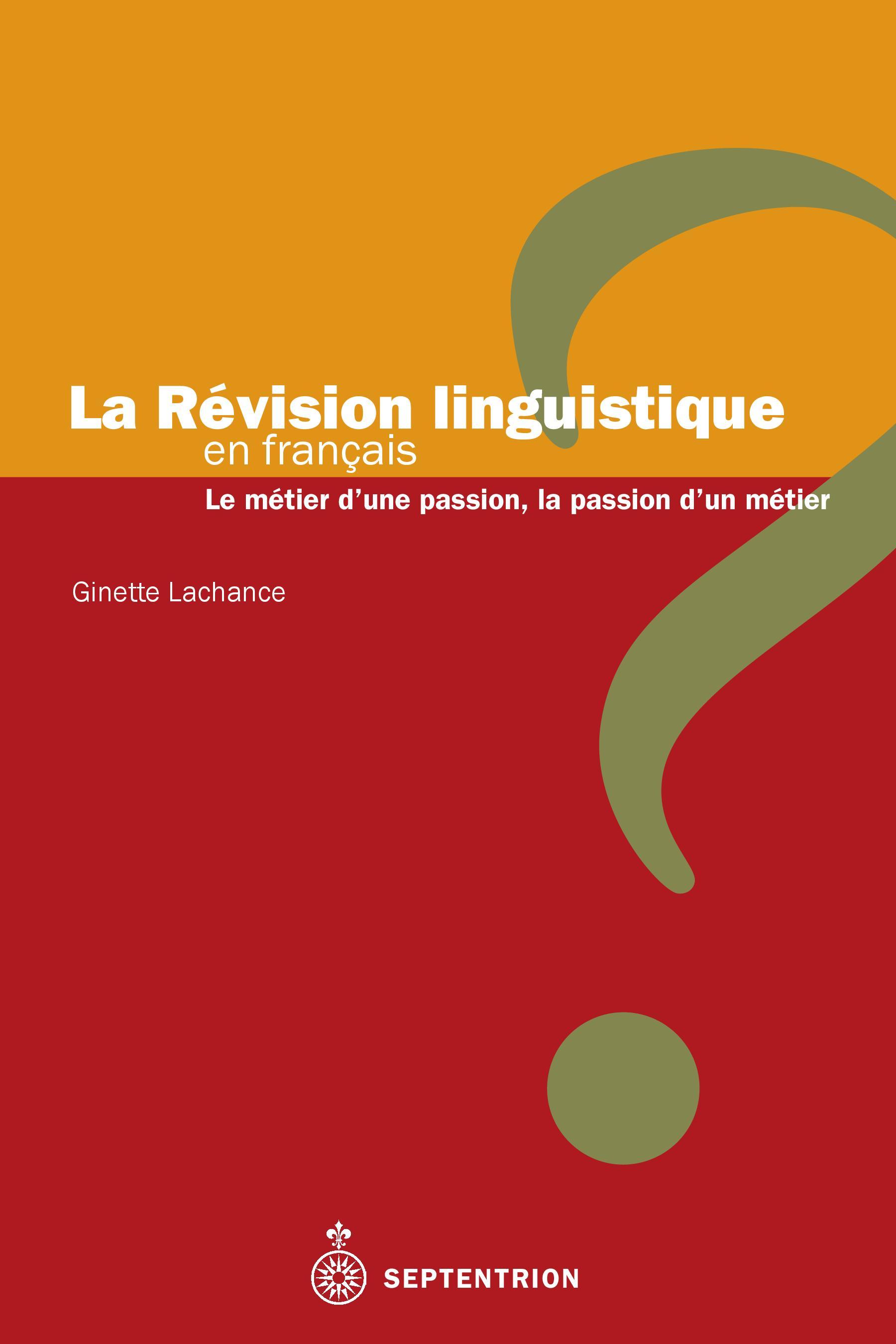 La Révision linguistique en français