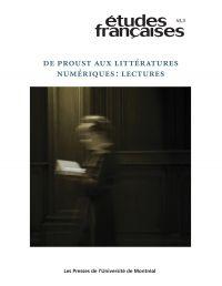 Image de couverture (Volume 43 numéro 3 - De Proust aux littératures numériques : lectures)