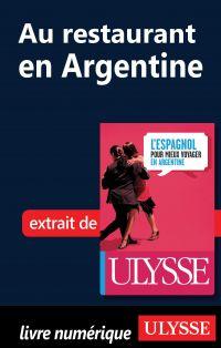 Au restaurant en Argentine (Guide de conversation)