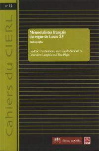 Mémorialistes français du règne Louis XV