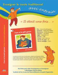 L'ours et le petit garçon - Fiches d'activités pédagogiques