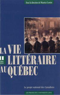 Vie littéraire au Québec vo...