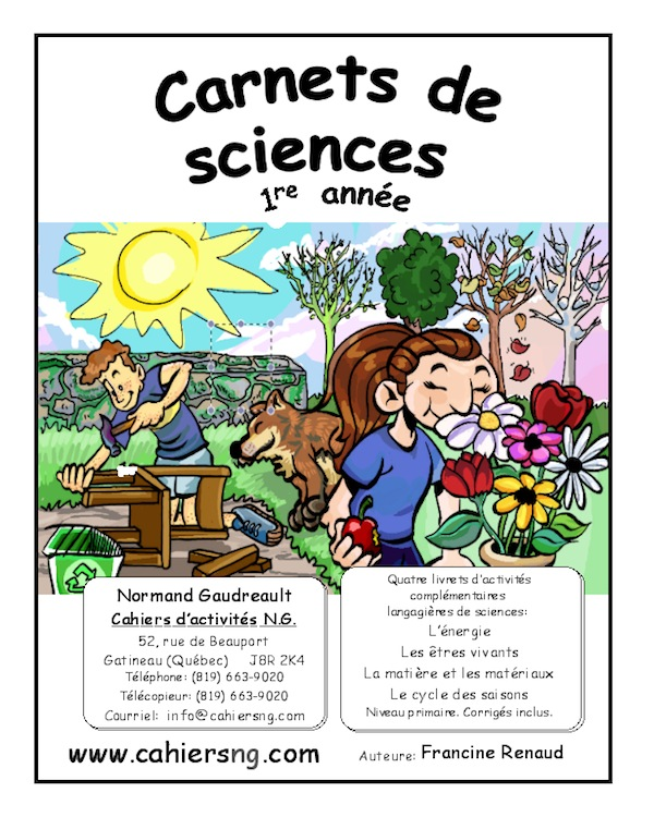 Carnets de sciences (1re an...