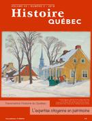 Histoire Québec. Vol. 24 No. 3,  2018