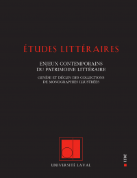 Études littéraires, vol. 50...