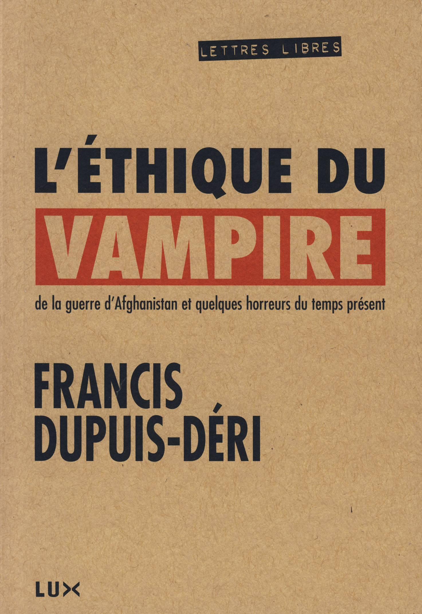 L'éthique du vampire