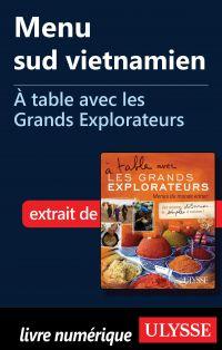 Menu sud vietnamien - À tab...
