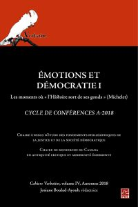 Émotions et démocratie 1. L...