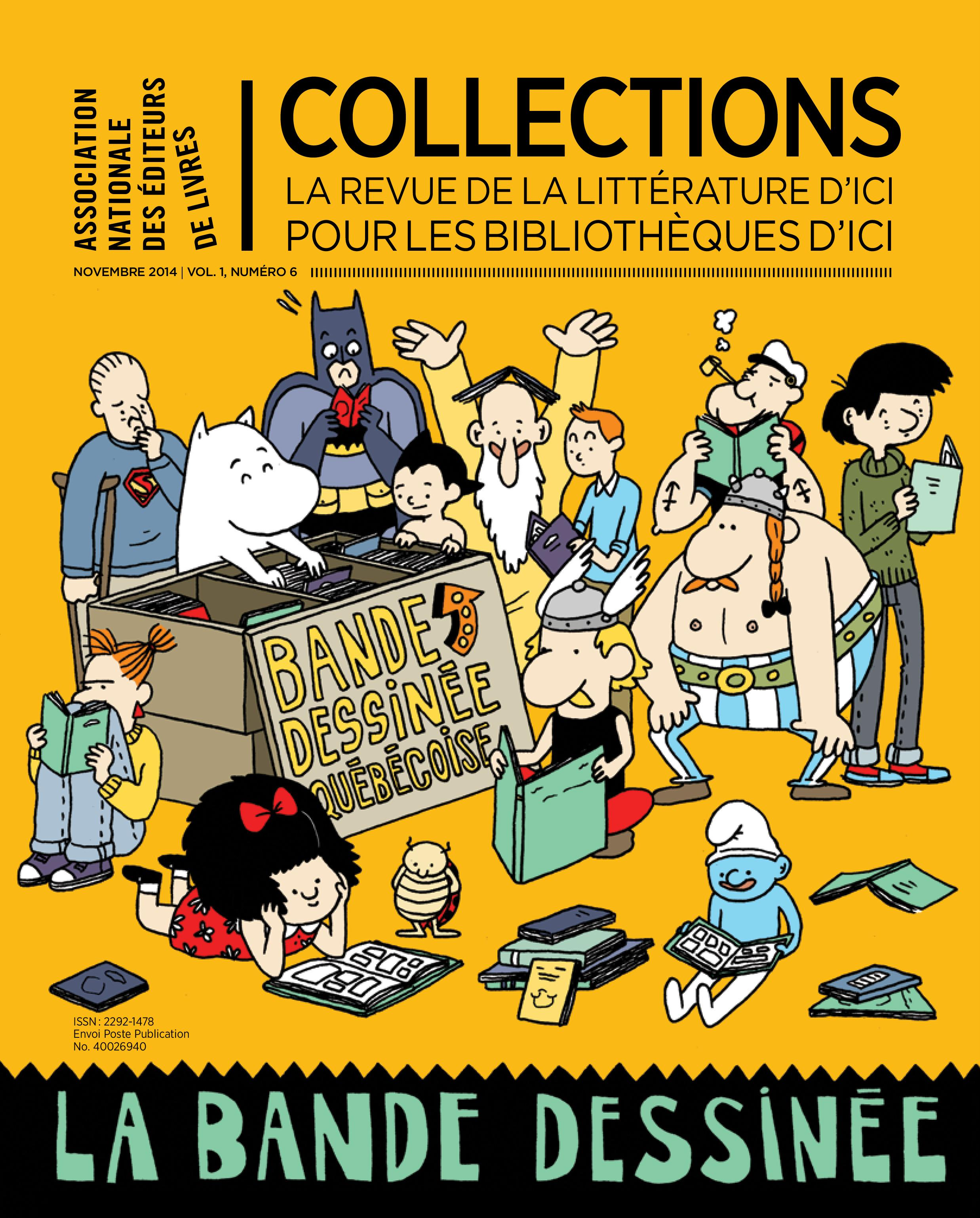 Collections Vol 1, No 6, La bande dessinée