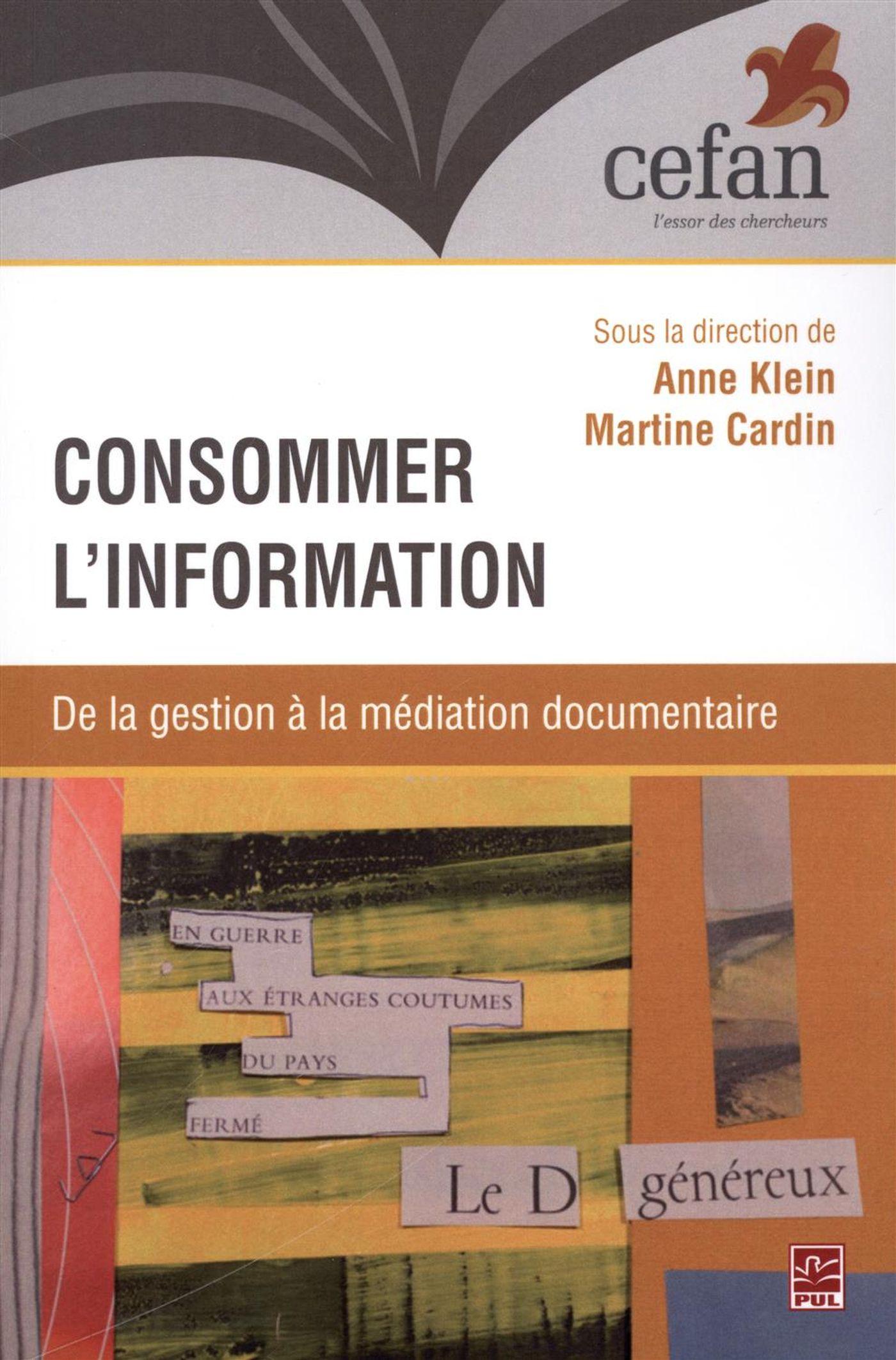 Consommer l'information : D...