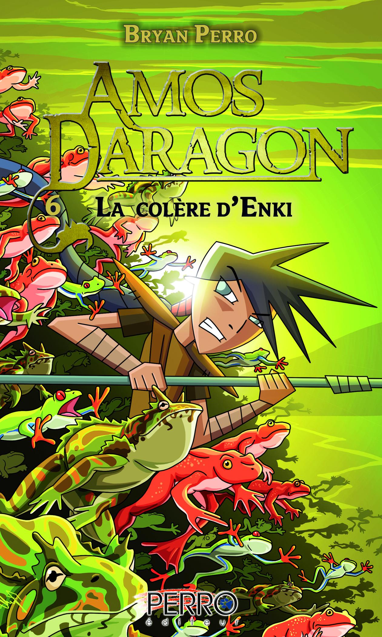 Amos Daragon (6) La colère d'Enki