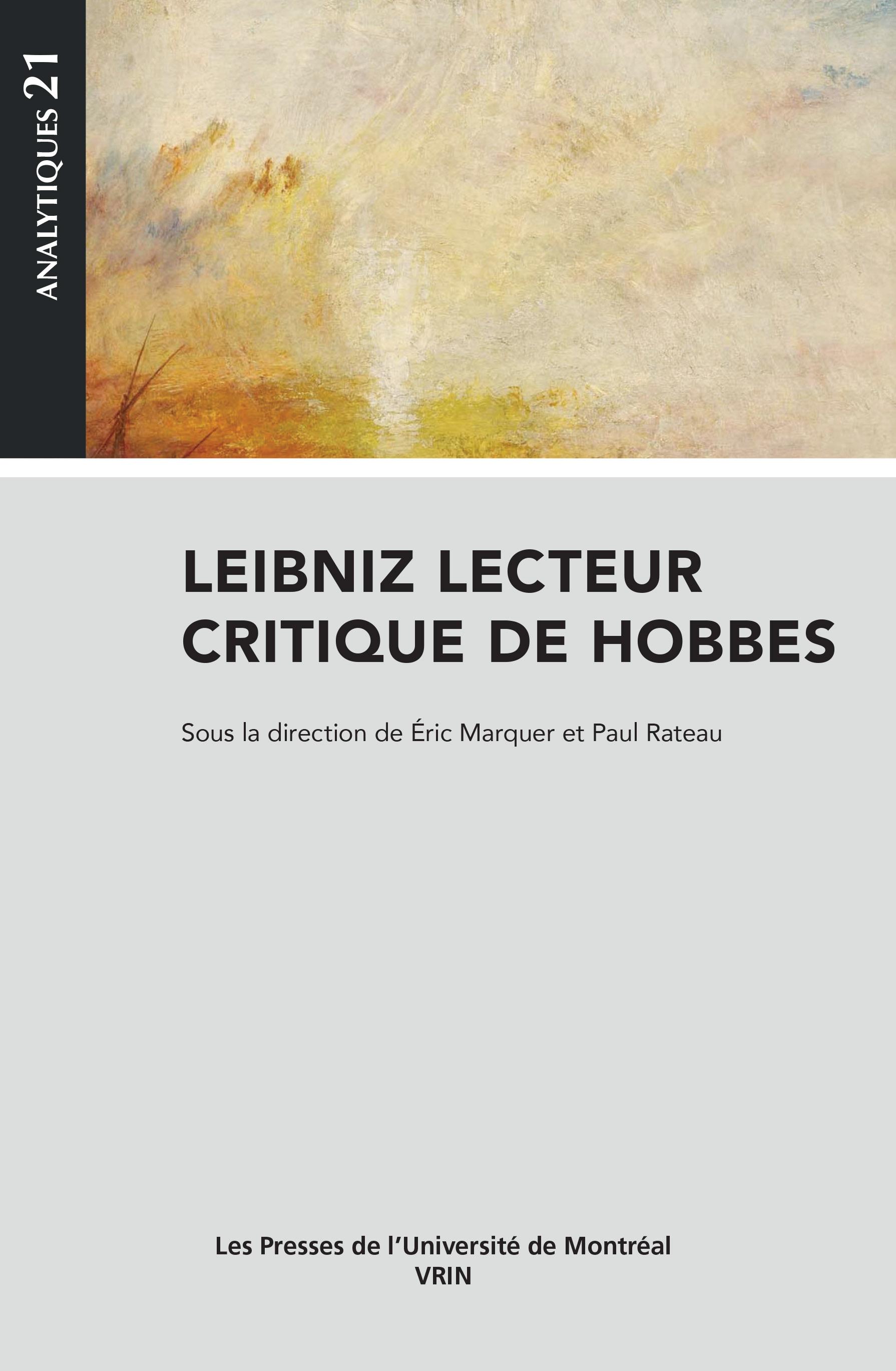 Leibniz lecteur critique de Hobbes