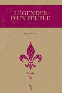 Image de couverture (Légendes d'un peuple, tome V)