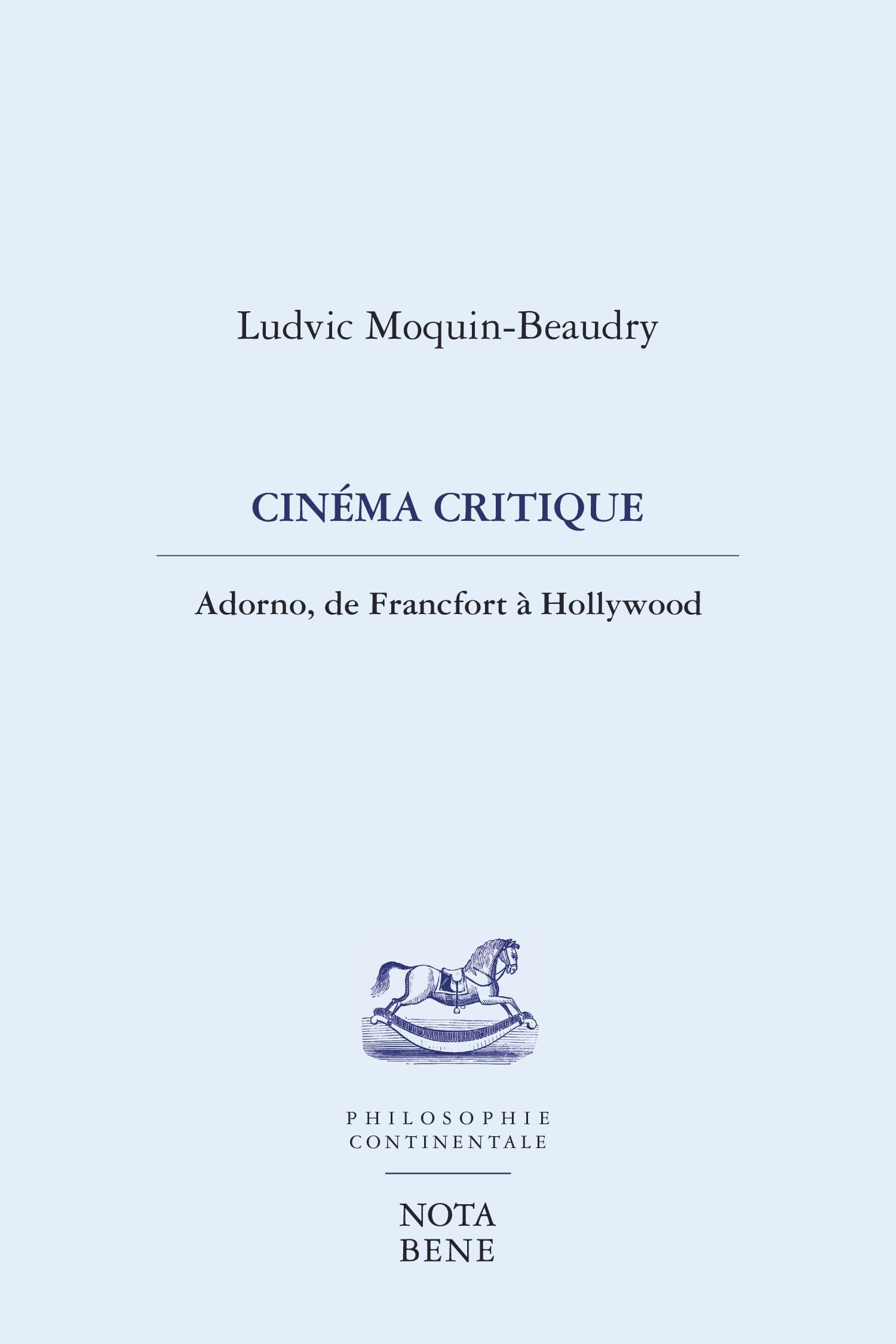 Cinéma critique