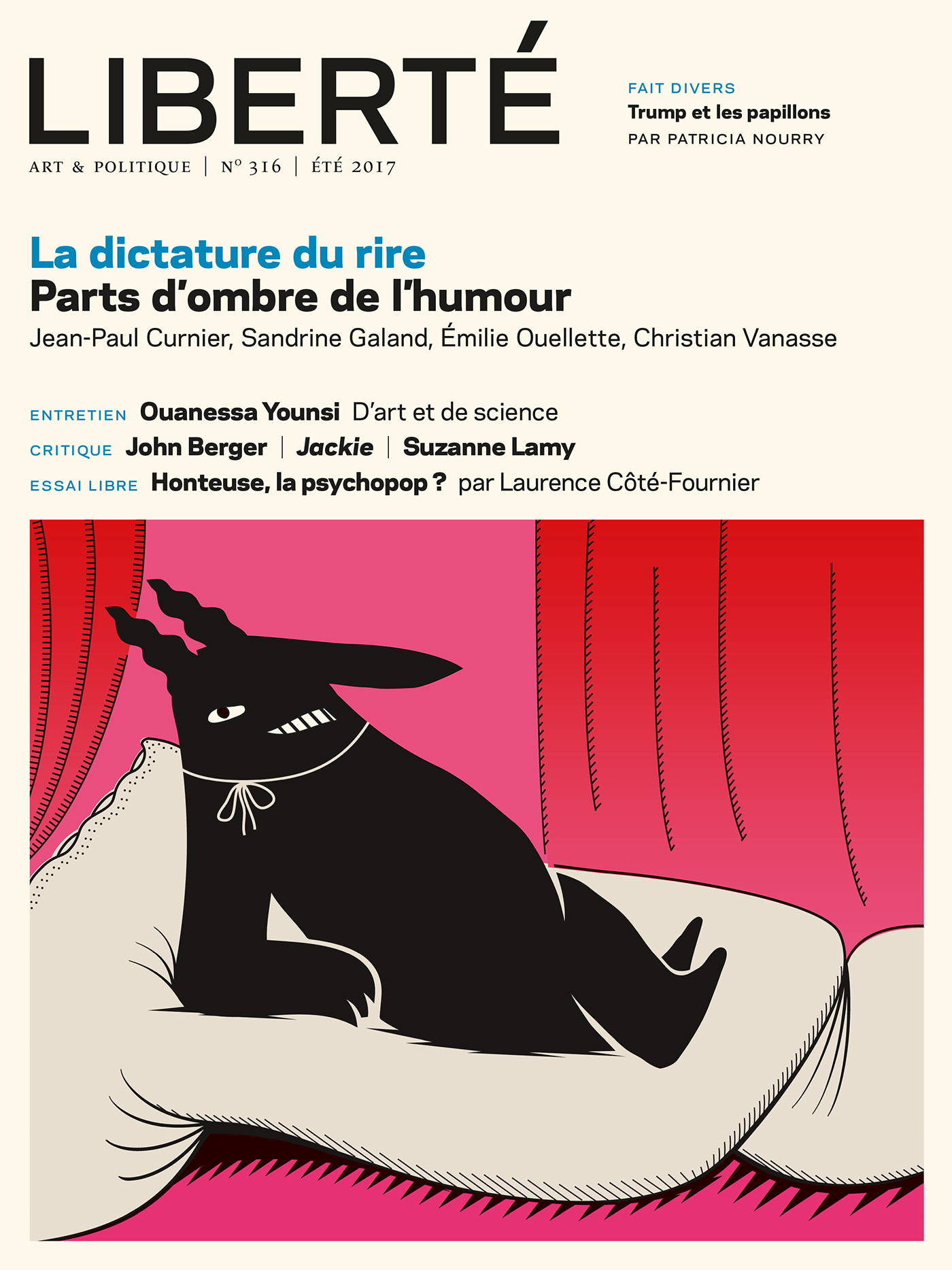 Revue Liberté 316 - La dictature du rire