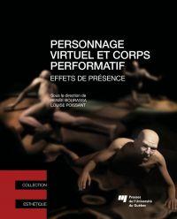 Image de couverture (Personnage virtuel et corps performatif)