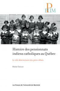 Image de couverture (Histoire des pensionnats indiens catholiques au Québec)