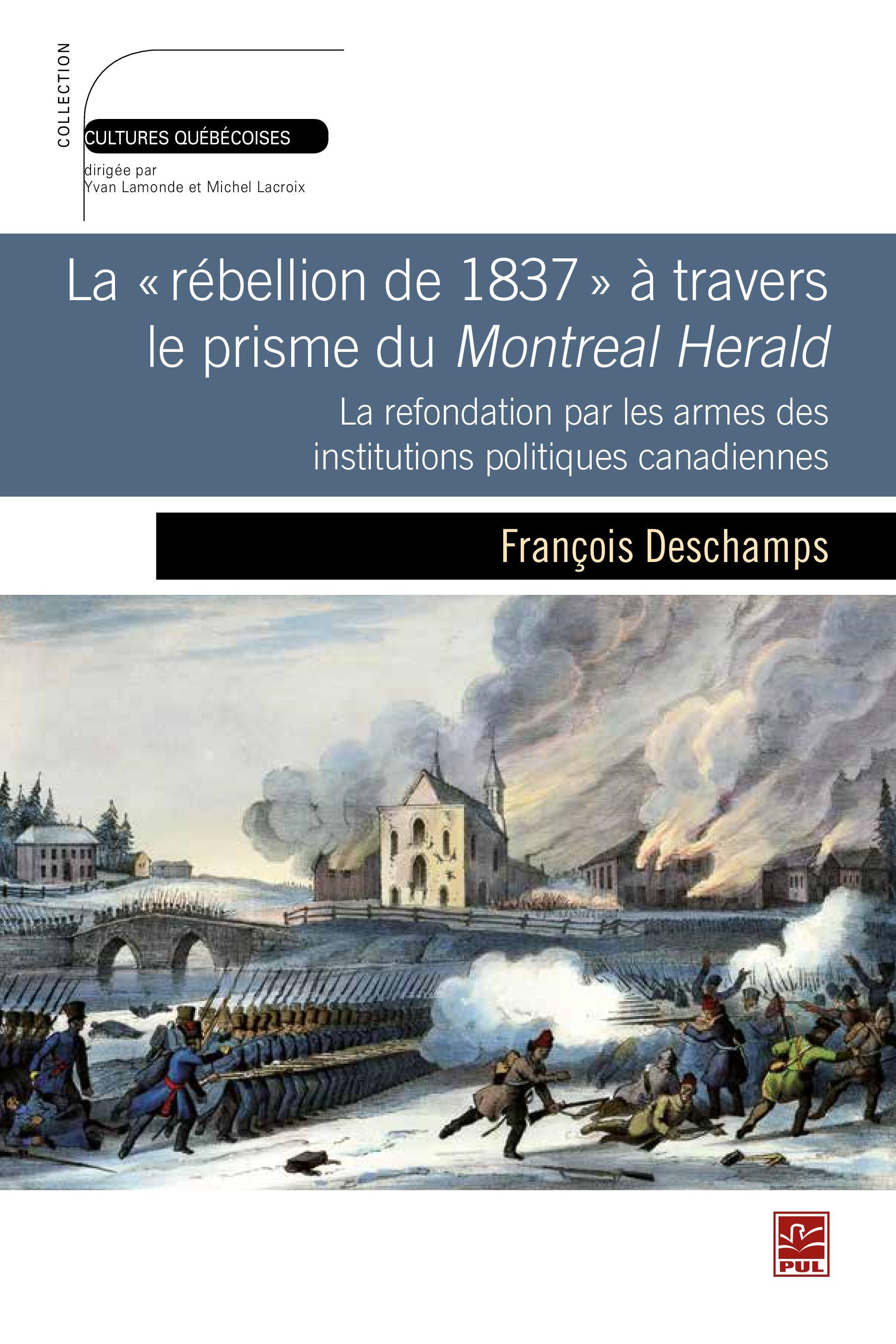Rébellion de 1837 à travers...