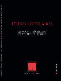 Études littéraires. Vol. 45...