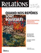 Image de couverture (Relations. No. 802, Mai-Juin 2019)