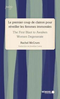 Image de couverture (Le premier coup de clairon pour réveiller les femmes immorales - The First Blast to Awaken Women Degenerate)