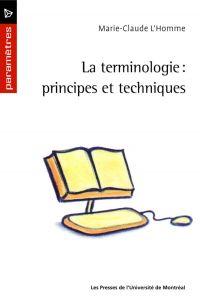 La terminologie: principes ...
