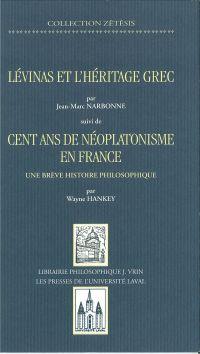 Lévinas et héritage grec, s...
