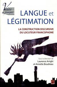 Langue et légitimation : La...