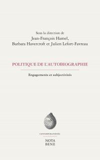 Politique de l'autobiographie