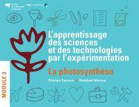 Image de couverture (L'apprentissage des sciences et des technologies par l'expérimentation)