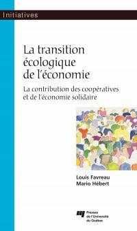 La transition écologique de l'économie