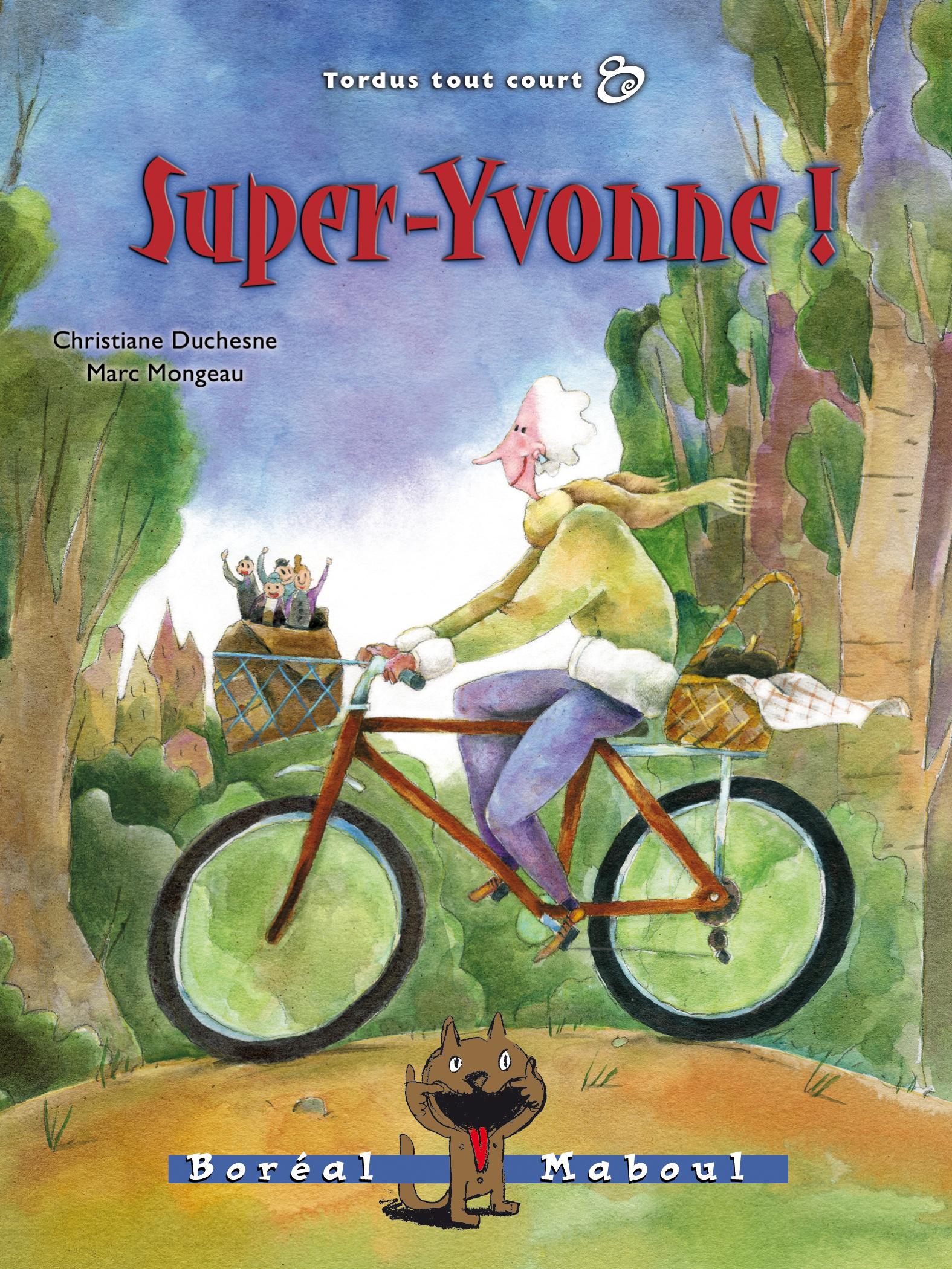 Super-Yvonne !