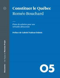 Cover image (Constituer le Québec)