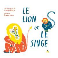 Image de couverture (Le lion et le singe)