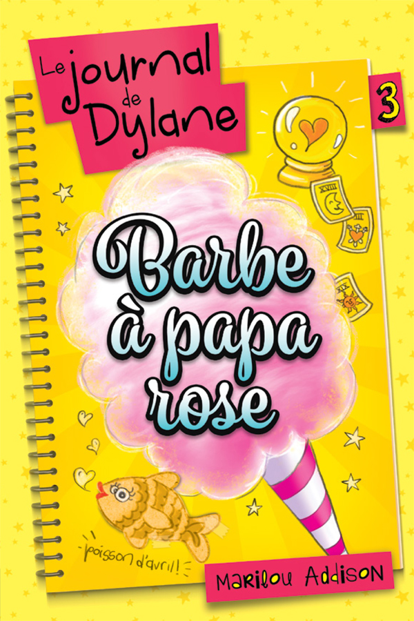 Barbe à papa rose