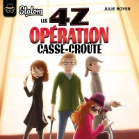 Cover image (Les 4Z - tome 1 Opération casse-croûte)